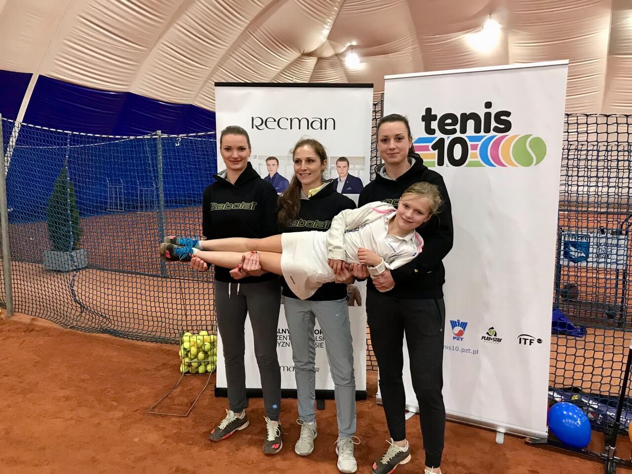 Konferencja Tenis10 wspierana przez Babolat