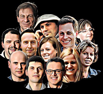 Ekipa pracowników Babolat Polska