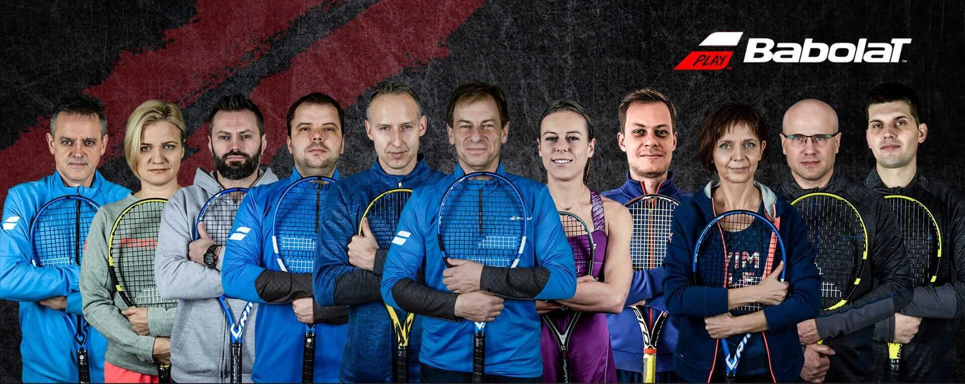 Ekipa pracowników firmy Sprzęt Tenisowy Ireneusz Maciocha