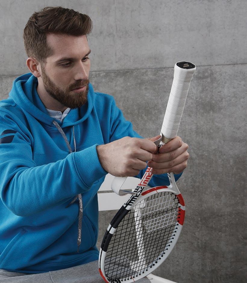 Nawijanie owijki tenisowej
