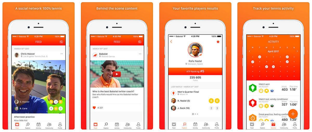 Aplikacja Babolat App