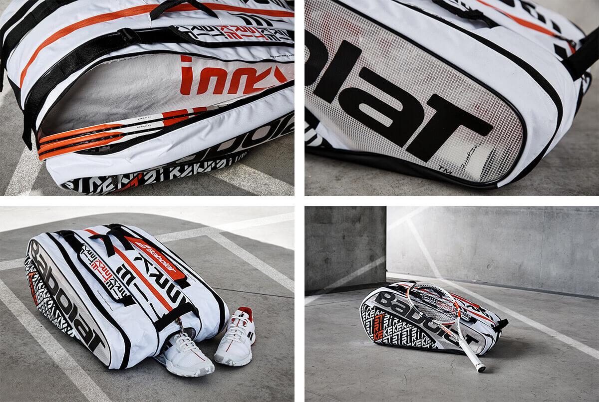 Detale torby tenisowej Babolat Pure Strike x12