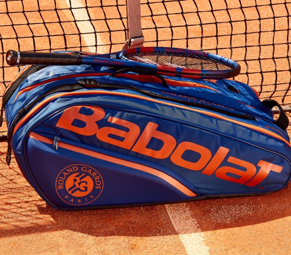Na zdjęciu: Babolat Pure Drive Team Roland-Garros