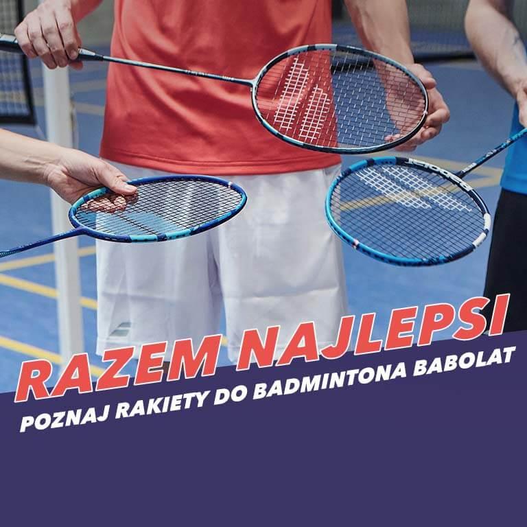 Rakiety do badmintona Babolat